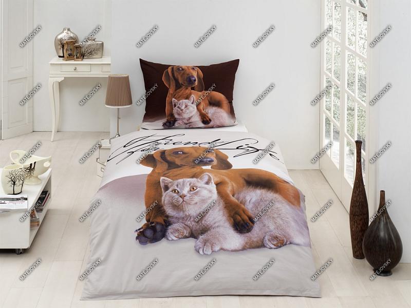 Hund Und Katze Bettwäsche Friends Onlineshop Für Bettwäsche
