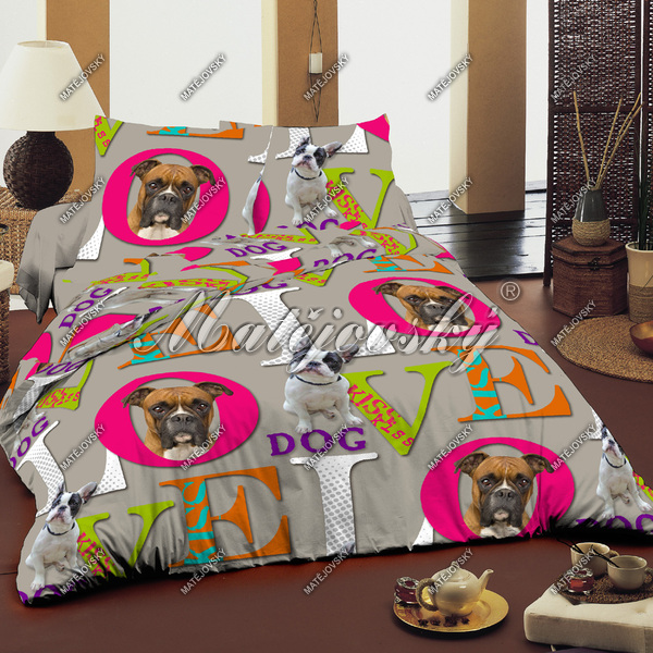hunde bettwaesche paradise onlineshop f r bettw sche. Black Bedroom Furniture Sets. Home Design Ideas