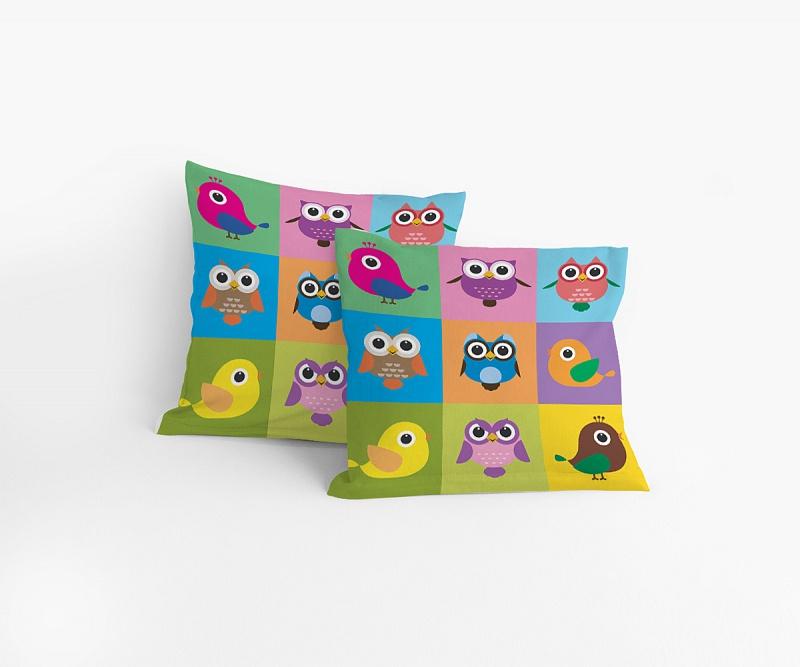 Eulen Kissen Onlineshop Für Bettwäsche Spielwaren Und Heimtextilien